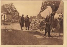 Planche Du Service Photographique Armée Belge Guerre 14-18 WW1 Militaire Patrouilleur  Fusil - Libri, Riviste & Cataloghi