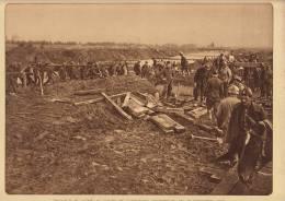 Planche Du Service Photographique Armée Belge Guerre 14-18 WW1 Militaire Genie Au Travail - Libri, Riviste & Cataloghi