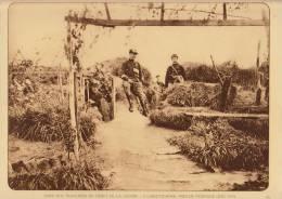 planche du service photographique arm�e belge guerre 14-18 WW1 militaire abri labeettehoek reninghe