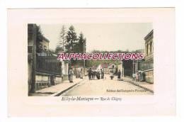 51 - RILLY LA MONTAGNE : RUE DE CHIGNY. ATTELAGE DE CHIEN Pp?. - Rilly-la-Montagne