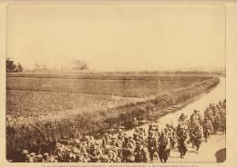 Planche Du Service Photographique Armée Belge Guerre 14-18 WW1militaire 28 Regiment Francais Vers Wulveringhem - Altri