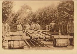 Planche Du Service Photographique Armée Belge Guerre 14-18 WW1 Militaire Passerelle Flottante - Libri, Riviste & Cataloghi