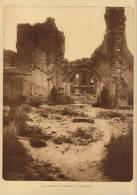 planche du service photographique arm�e belge guerre 14-18 WW1 ruine eglise de caeskerke