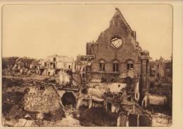Planche Du Service Photographique Armée Belge Guerre 14-18 WW1 Ruine De Nieuport - Livres, Revues & Catalogues