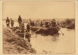 planche du service photographique arm�e belge guerre 14-18 WW1 militaire genie pontonnier