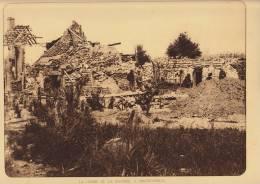 planche du service photographique arm�e belge guerre 14-18 WW1 ferme de la joconde � nieuwcapelle