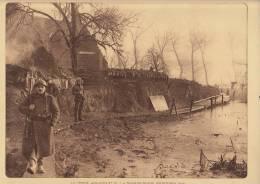 Planche Du Service Photographique Armée Belge Guerre 14-18 WW1 Militaire Poste Aquatique N°2 à Noordschoote - Libri, Riviste & Cataloghi