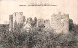 44 HERBIGNAC RUINES DU CHATEAU DE RANROUET COTE SUD - Herbignac