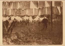 Planche Du Service Photographique Armée Belge Guerre 14-18 WW1 Militaire Genie Route Près D'oostkerke - Sonstige