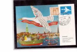 TEM1128     -    HAFENGEBURSTAG 1980    /   TRAVEMUENDE-TRELLEBORG  22.4.1980 - Transport
