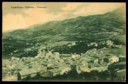 CASTELLANA  (PA) PANORAMA INUSUALE 1935 - Palermo