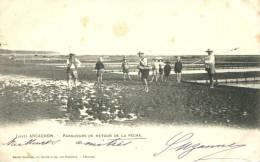 33 - CPA Pionnière Arcachon - Parqueurs De Retour De Pêche - Arcachon