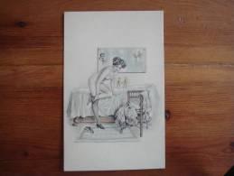 CPA NUE FEMININ  (ref H.L. N° 1297) - Fine Nudes (adults < 1960)