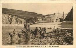 Seine Maritime -ref A655- Sanatorium Marin Des Grandes Dalles - Theme Santé  - - Frankreich