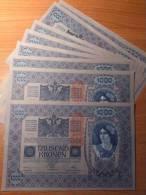 Austria 1000 Kronen 1902/1919 AUNC - Austria