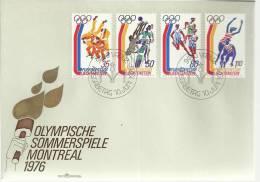 LIECHTENSTEIN SPD JUEGOS OLIMPICOS MONTREAL 1976 OLIMPIADAS DEPORTE - Verano 1976: Montréal