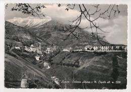 BELLUNO LAMON COLONIA ALPINA CARTOLINA FORMATO GRANDE VIAGGIATA NEL 1957 - Other Cities