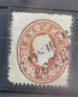 H 198-2 ++ AUSTRIA ÖSTERREICH 1860 ANK 21B CANCELLED - 1850-1918 Keizerrijk