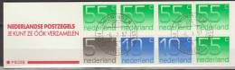 Nederland, Netherlands, 1987, Queen Juliana, Complete Booklet PB 33B, Used, Canceled - Libretti