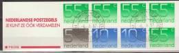 Nederland, Netherlands, 1987, Queen Juliana, Complete Booklet PB 33B, Used, Canceled - Postzegelboekjes En Roltandingzegels