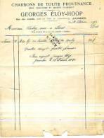 Jambes (Namur) - 1920 - Georges Eloy-Hoop - Charbons De Toute Provenance - Zonder Classificatie