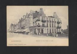 Postkaart Blankenberghe Belvedere Du Grand Hotel 1911 - Blankenberge