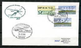 "Allemagne 1996 Sonderbeleg Concorde Mit ATM Mi.Nr.1/2 U.SST""Lautzenhausen-Flugt Ag Mit Concorde""1 Beleg - First Flight Covers"