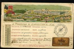 Exposition De LIEGE 1905  Panorama - Luik