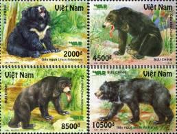 Vietnam New Issue 2012: Bear - Mint NH - Bears