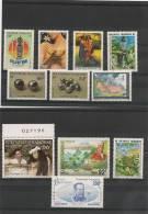 Polynesie Française Année 1995 N° Y/T : 472/482  ** Côte 28,80€ - Polynésie Française