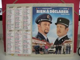 Calendrier Almanach Du Facteur - Oberthur 2012 Dany Boon / Benoît Poelvoorde ( Rein à Déclarer ) - Calendriers