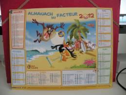 Pour Les Enfants - Calendrier Almanach Du Facteur - Oller 2012 - Calendriers