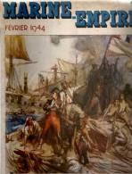Marine Empire Fevrier 1944: Le Combat Du Vengeur,13 Prairial An II, Illustrations De Charles FOUQUERAY Et A. Bren - Boats