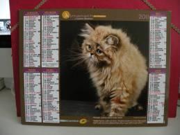Les Chats - Calendrier Almanach Du Facteur - Cartier Bresson 2012 - Calendriers