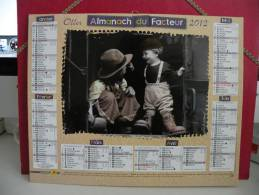 Les Enfants - Calendrier Almanach Du Facteur - Oller 2012 - Calendriers