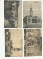PRUSSE : GROB - STREHLITZ Lot 4 Cartes - Annee 1920- 2 Cartes Ont Circulé- Bon Etat - Deutschland