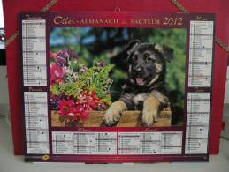 Chien & Chat - Calendrier Almanach Du Facteur - Oller 2012 ( Tous Comme Neuf ) - Calendriers