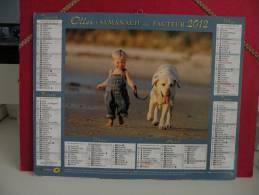 L'Enfant - Calendrier Almanach Du Facteur - Oller 2012 ( Tous Comme Neuf ) - Calendriers