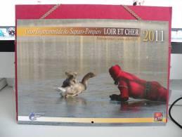 Les Sapeurs Pompiers Du Loir Et Cher - Calendrier Ouchamps -  2011 ( Tous Comme Neuf ) - Calendriers