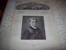 L'UNIVERS ILLUSTRE 11/06/1881 : FORGES D'IVRY - COMPAGNIE LIEBIG - TUNISIE - 1850 - 1899