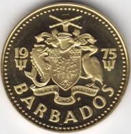@Y@    Barbados 5 Cent 1975   Unc   (405) - Barbades