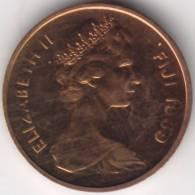 @Y@    Fiji  1 Cent 1969   Unc   (404) - Fidji