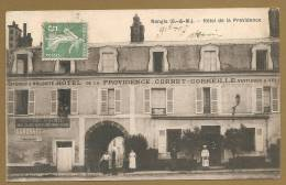 BELLE C.P.A - Nangis (S.-&-M.). -- Hôtel De La Providence - Nangis