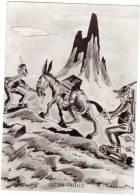 SISTEMA PRATICO ALPINI UMORISTICA VIAGGIATA 1963 - Cartoline