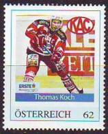 348a6: Icehockey Austria/ Autriche: EC KAC Thomas Koch **/o - Hockey (su Ghiaccio)