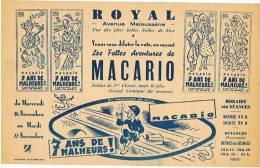ROYAL CINEMA à NICE   MACARIO - Publicités
