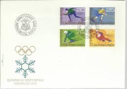 LIECHTENSTEIN SPD SKI HOCKEY PATINAJE DEPORTE JUEGOS OLIMPICOS INVIERNO INNSBRUCK ESQUI - Invierno 1976: Innsbruck