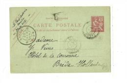 CRETE / HOLLANDE  Obl.1904