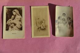 Lot De 7 Images Pieuses Provenant Toutes De L'Eglise Notre Dame Du RAINCY (93) Années 30 - Religion & Esotérisme