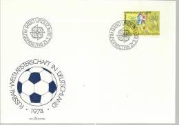 LIECHTENSTEIN SPD FUTBOL DEPORTE COPA MUNDIAL DE 1974 - Copa Mundial